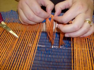 Jody\'s first weaving