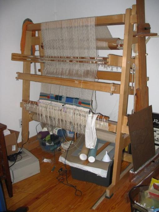 Pics of my toika tapestry loom