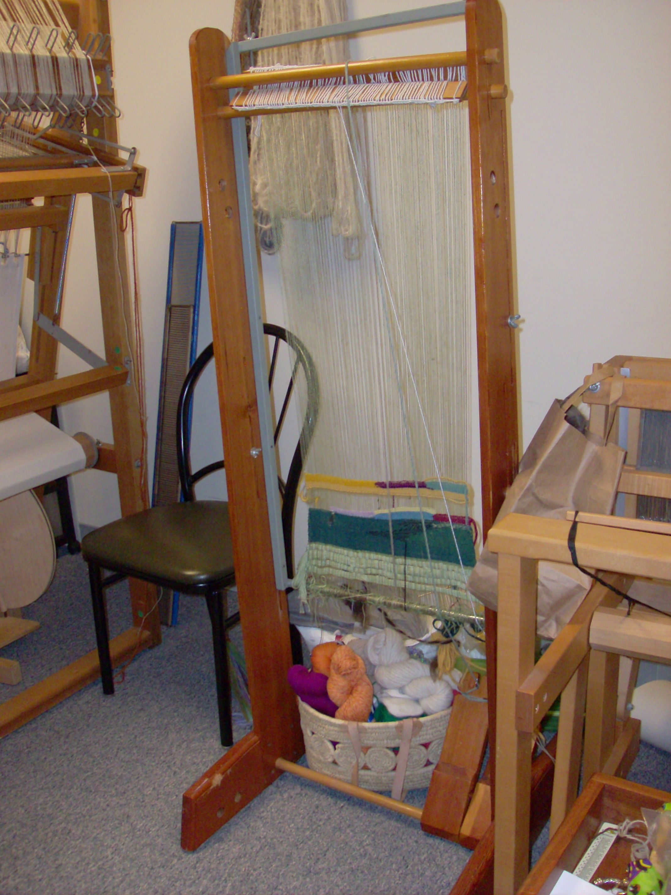 upright 2 harness tapestry loom for sale in VA | River City Weaves